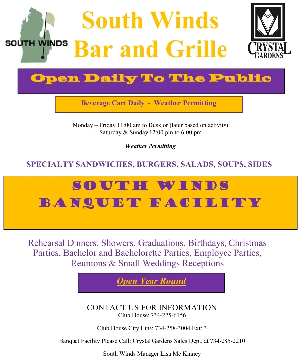 southwinds grille